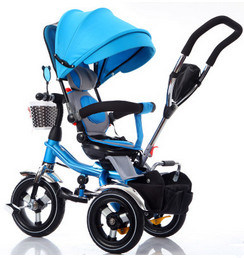 Wholesale 4 in 1 Children Tricycle Kids Trike Baby Tricycle with Factory Price