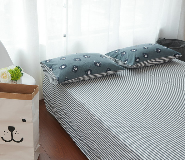 Deep Color Europe Style Hot Selling Bedding Set Four PCS