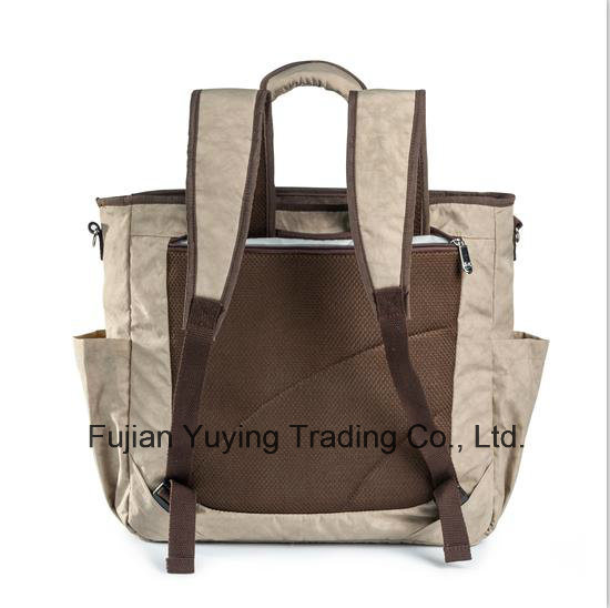 Two Colours Multifunction Mom Bag with Big Capacity Volume