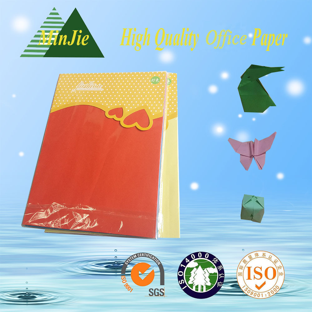 A4 Size Popular Children Performance DIY Color Origami Paper