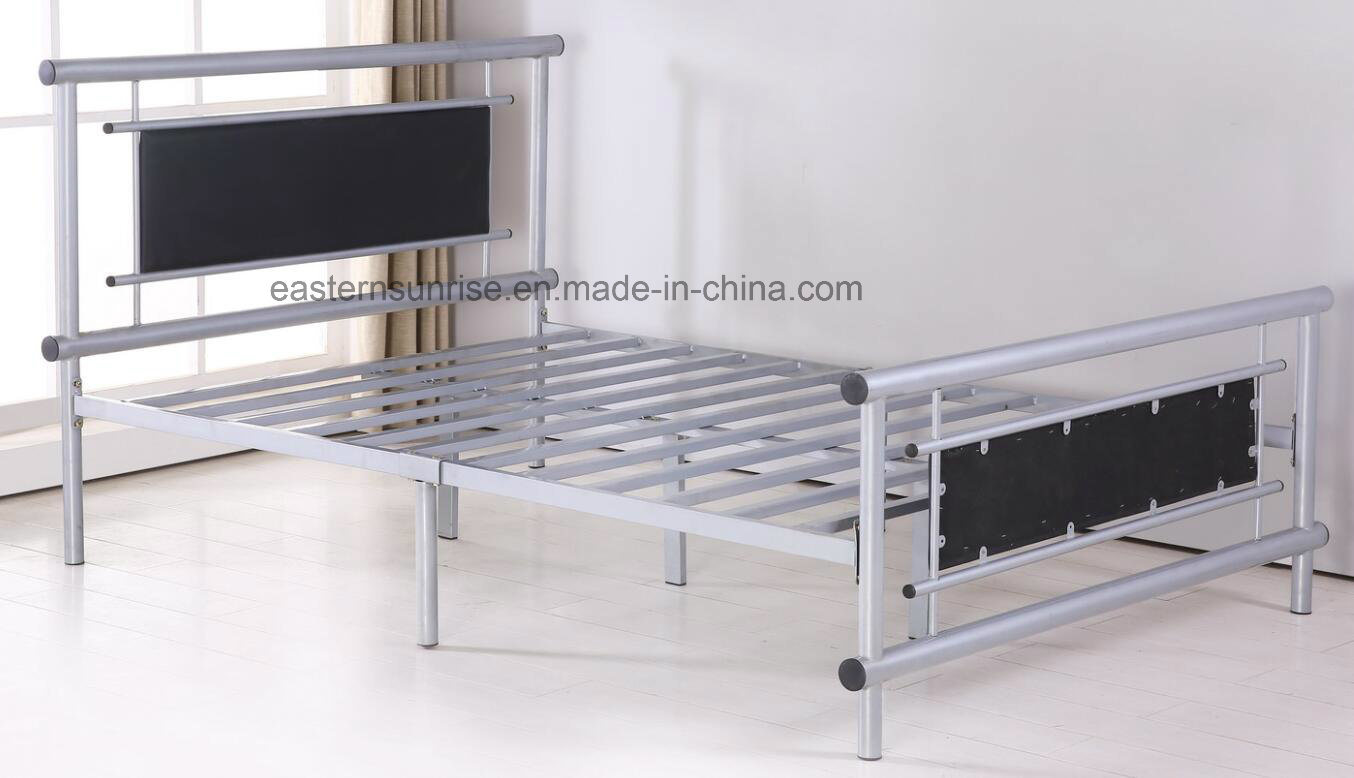 Indoor Home Furniture Metal Queen Size Bed