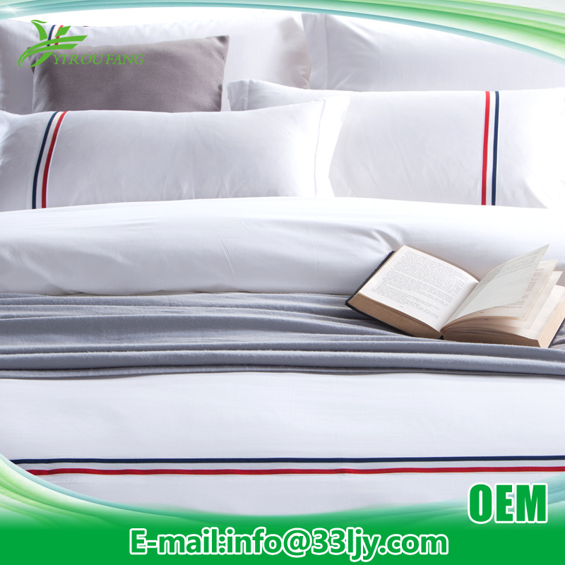 6 PCS Cheap 800t Bedding Linen for Resort