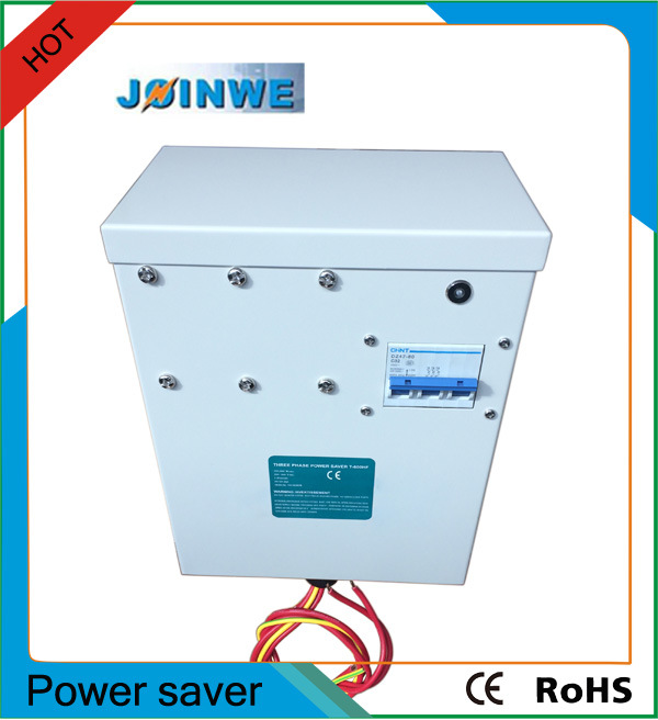New Generation Three Phase Power Saver with Harmonic Filter Circuit Breaker