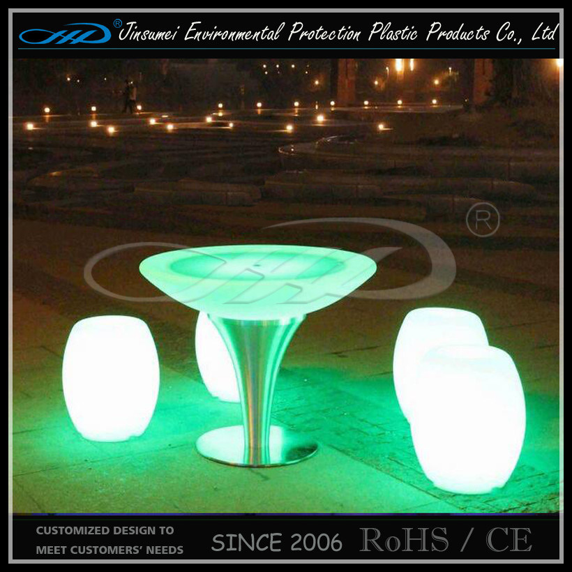 Hot Sell Rechargeable LED Drum Chair LED Furniture for Bar