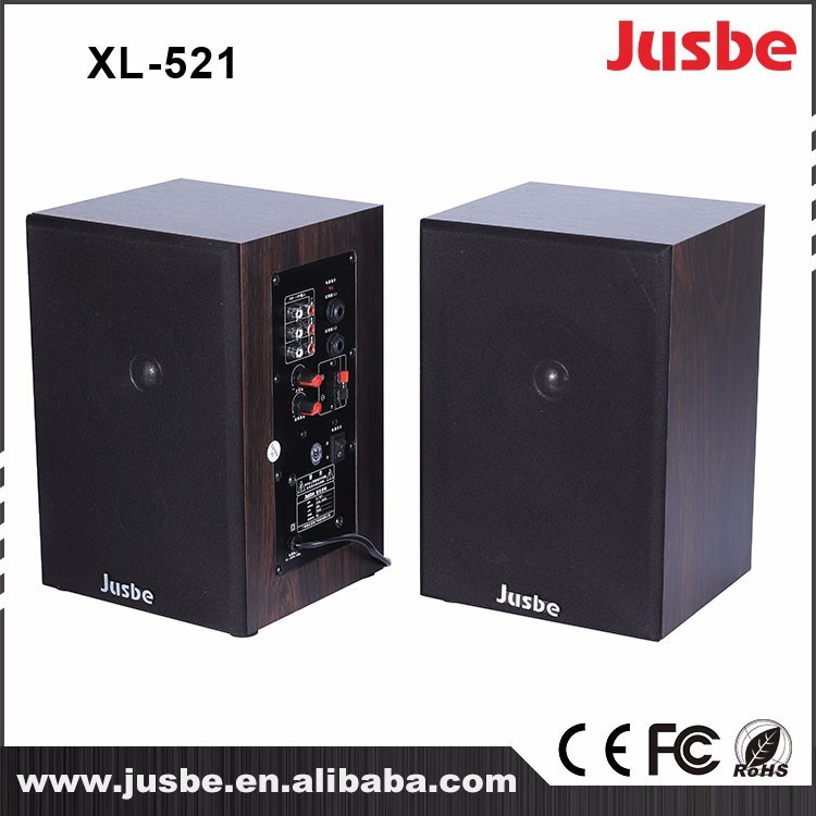 Jusbe XL-521 High Reliability 2.0 Active Speaker/Bluetooth Speaker