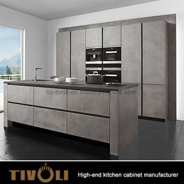 Luxury Formaca Laminate Cabinets for Cupboard Kitchen Box in Stock Tivo-0070h