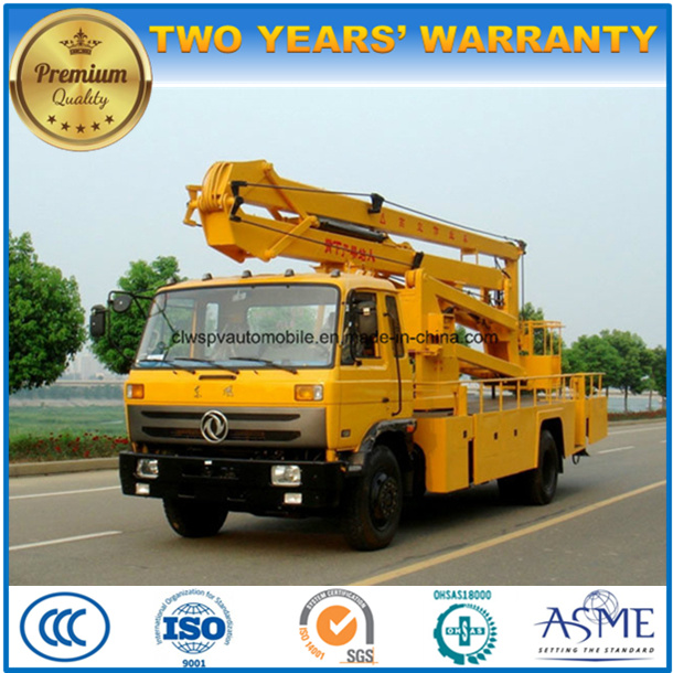 4X2 Aerial Working Man Lift Vehicle 22 Meters High Altitude Operation Truck