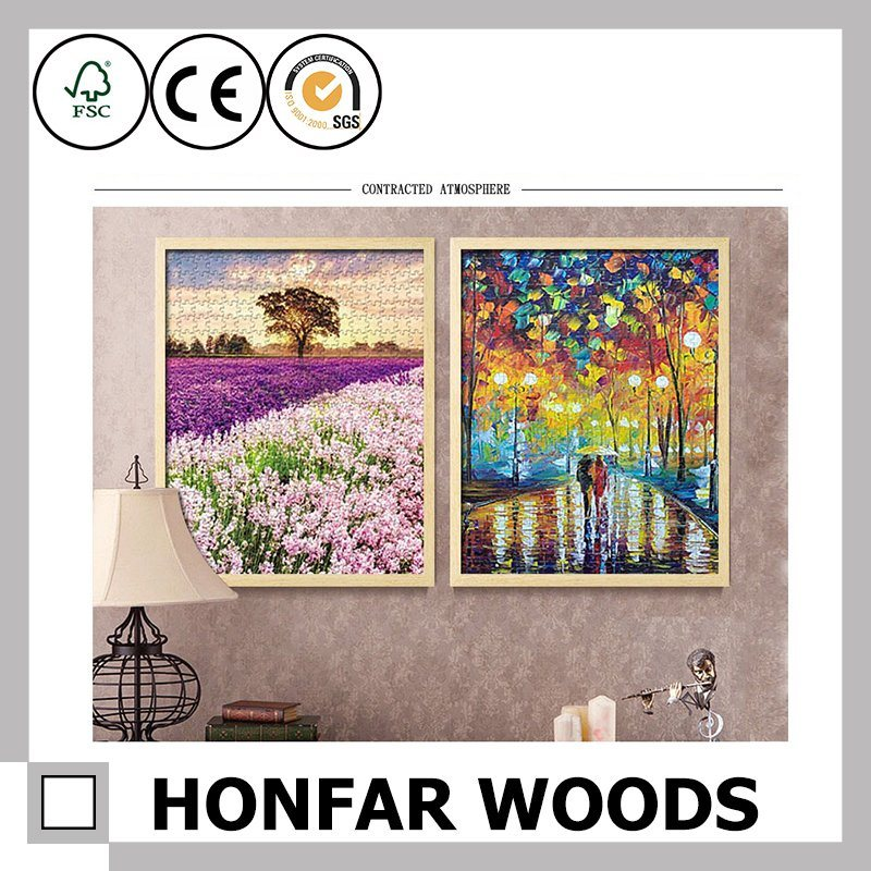 Modern Landscape Painting Art Hanging on The Wall