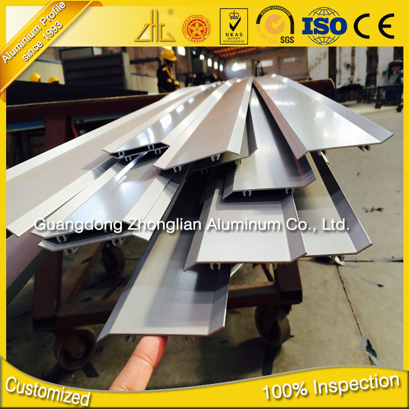 ISO 9001 Anodized Aluminum Extrusions Factory Custom Extruded Aluminium Louvre