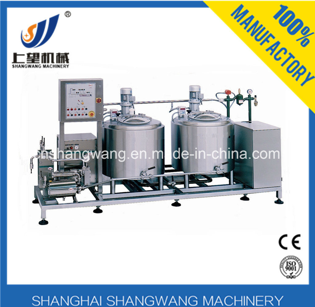 Complete Ice Cream Production Line/Equipment