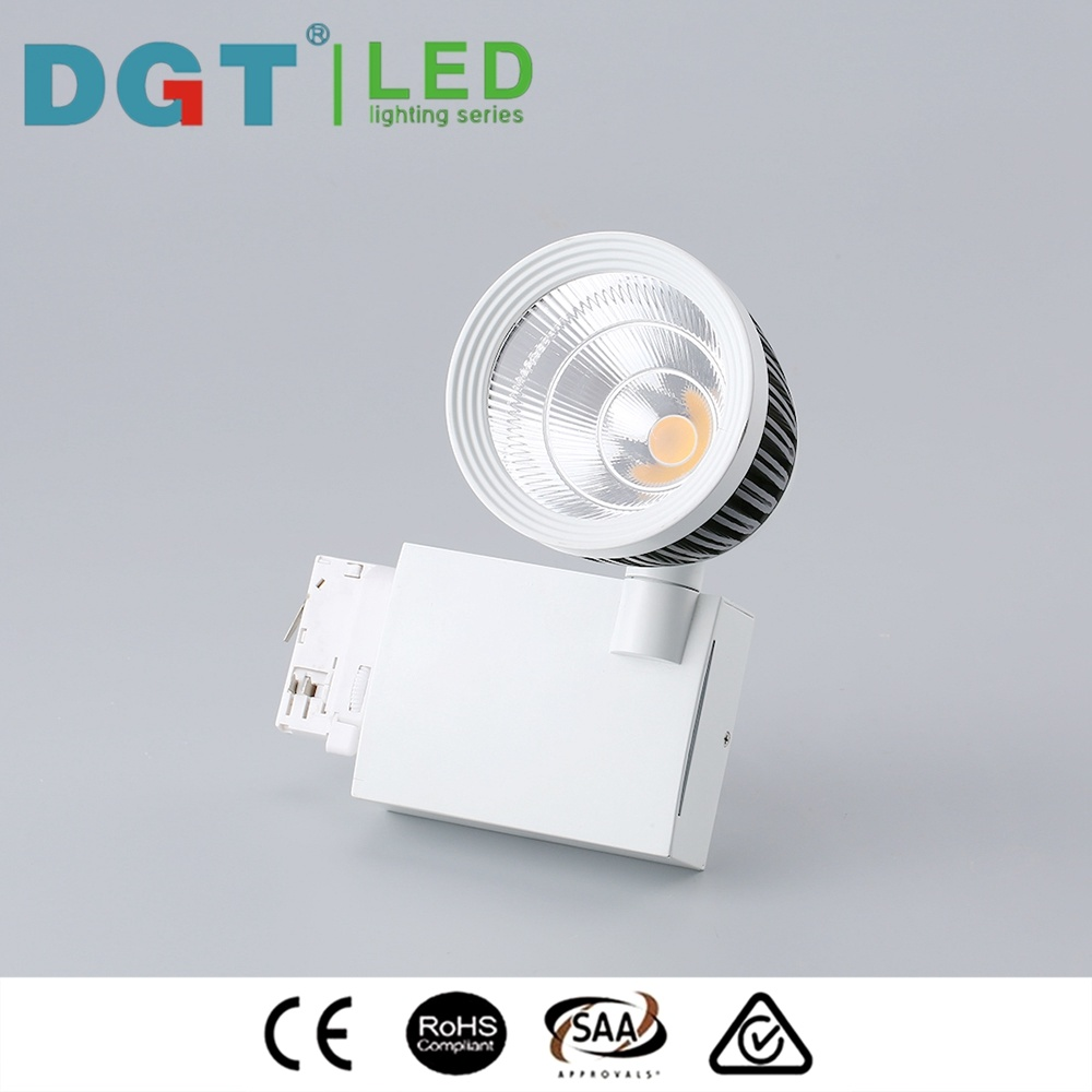 Brightness 2400lm COB 30W LED Track Light