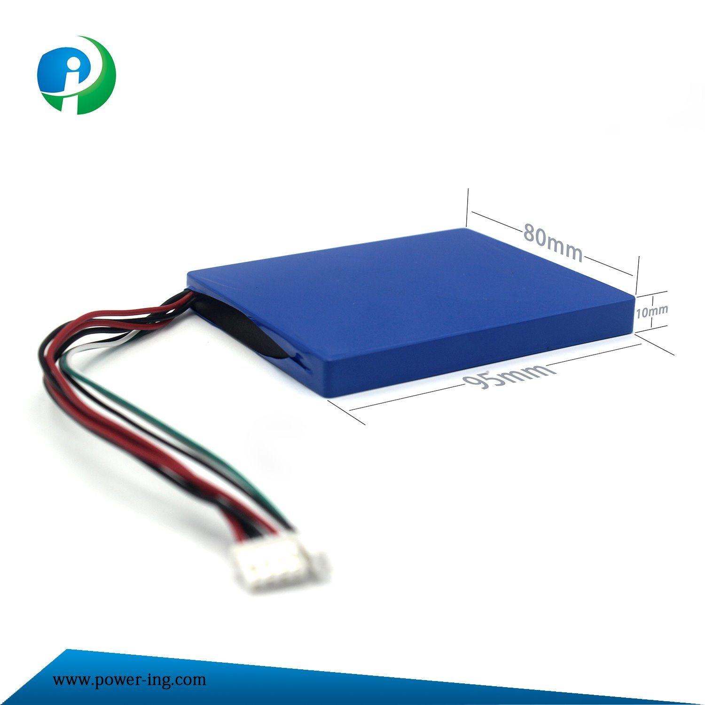 2017 Customized 5V Polymer Li-ion Battery for E-Equipment