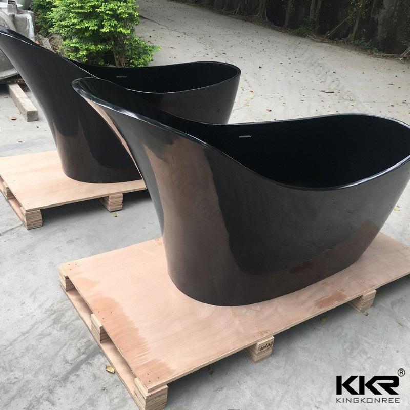 Freestanding Acrylic Bathroom Bath Tub Artificial Stone Bathtubs