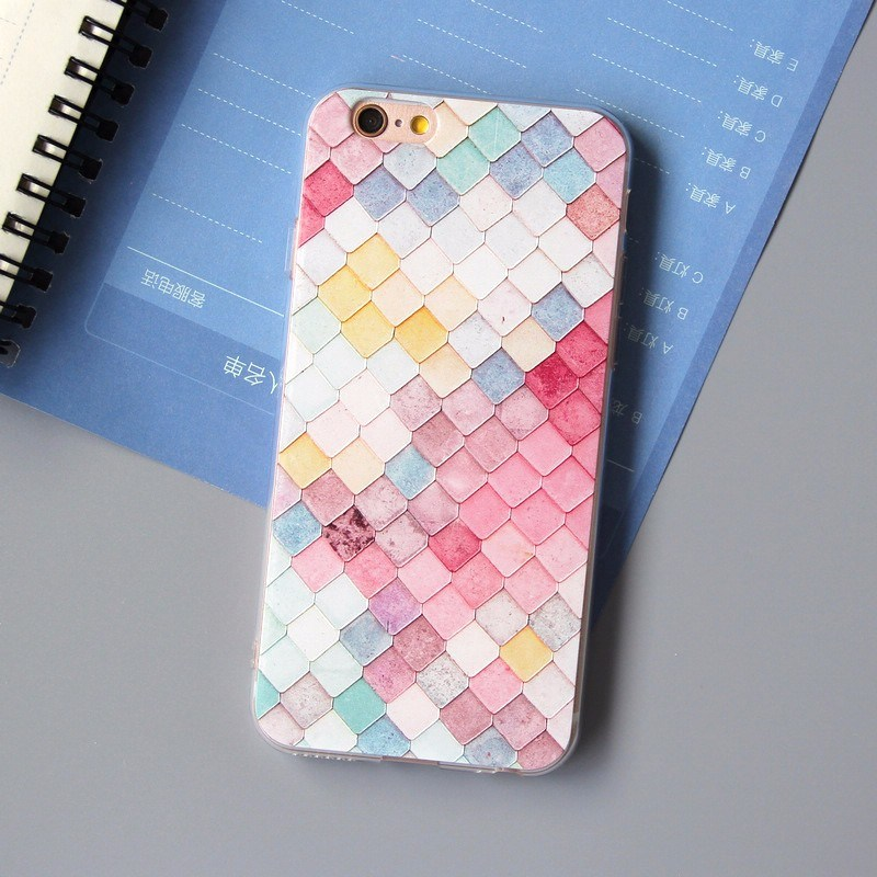OEM Colorful Ultra Thin TPU Cell Phone Case for iPhone