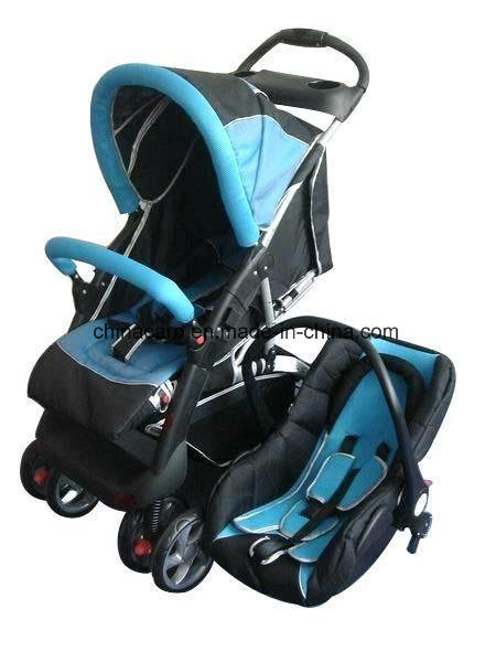 European Standard Luxury Baby Stroller with Car Seat