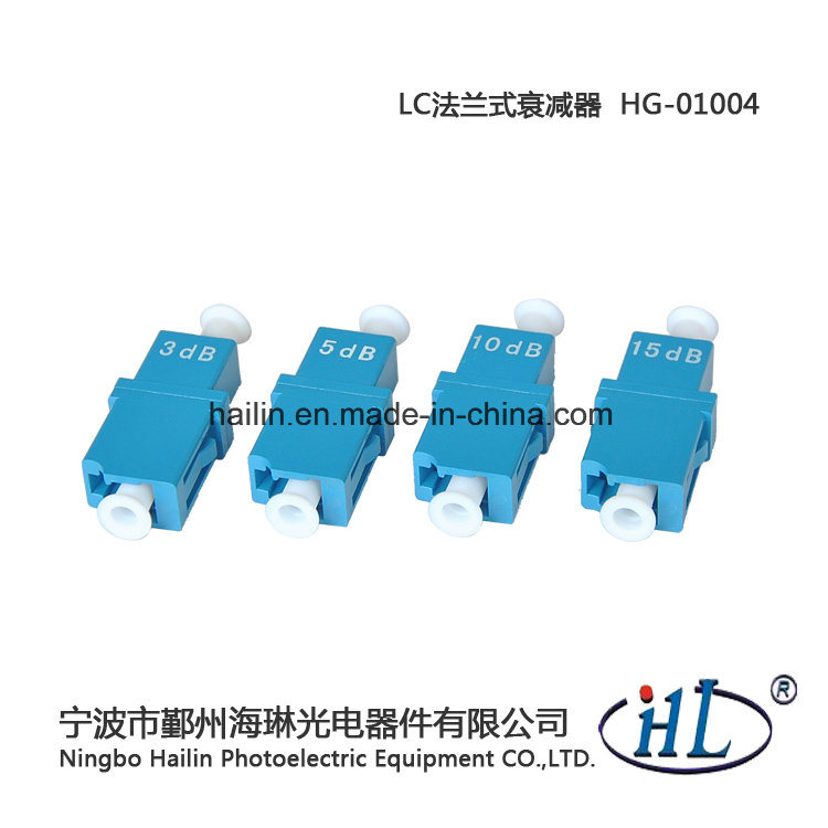 LC Fiber Optic Fixed Attenuator Use in Optical Fiber Transmitting Circuit