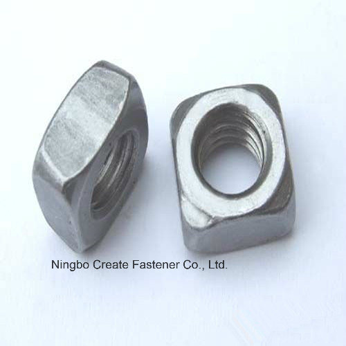 Square Nuts for ASME/ANSI B18.2.2 Square Nuts/Square Nuts DIN557