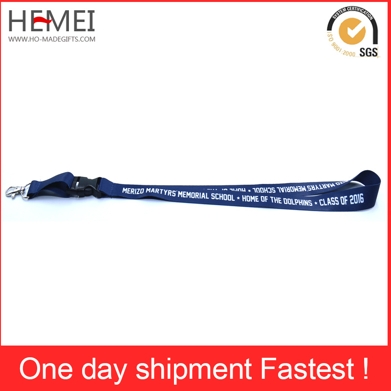 Promotional ID Card Holder Lanyard with Logo Printing