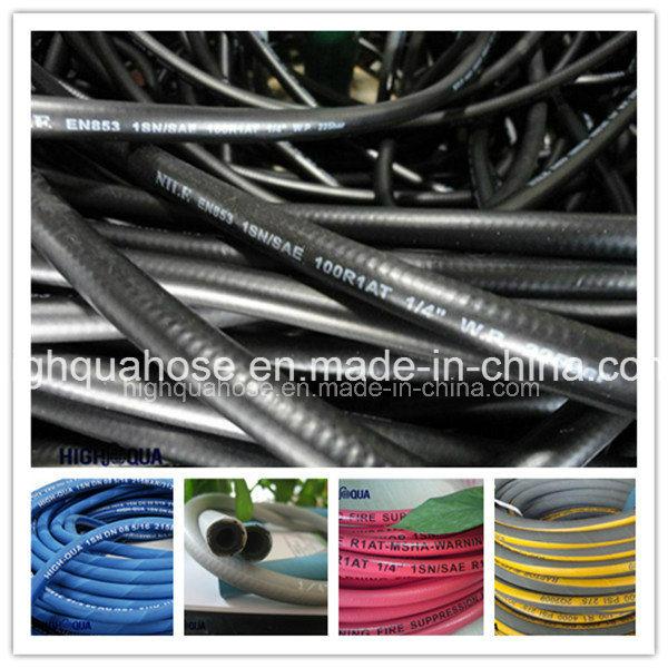 Industry High Pressure Rubber Hydraulic Hose R1 R2