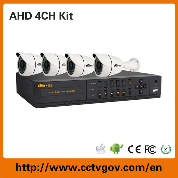 Network H. 264 Cvi Tvi Ahd IP 5 in 1 DVR Recorder Kits