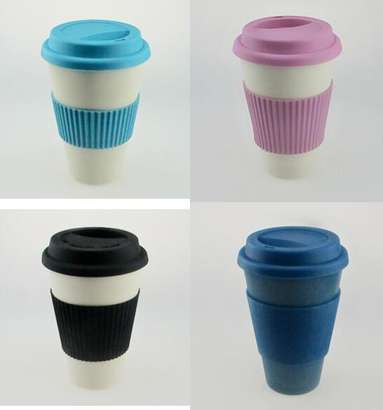 BPA Free Eco Bamboo Fiber Coffee Cup/Coffee Mug (YK-C10121)