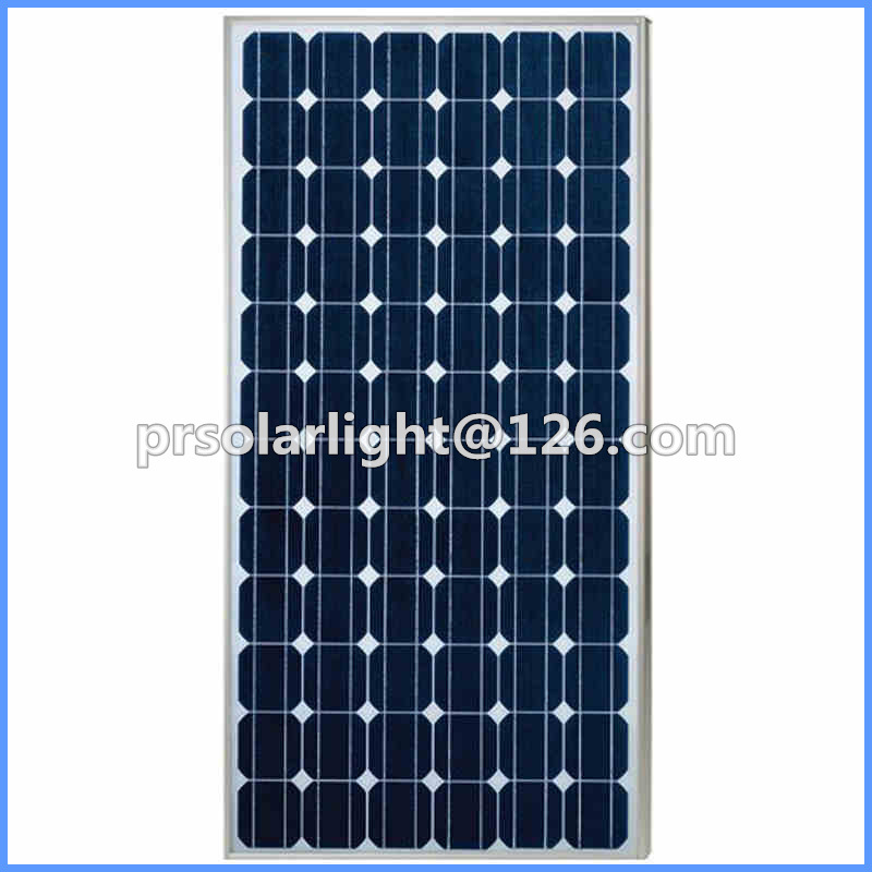 120W High Efficiency Mono Renewable Energy Saving Solar  Power