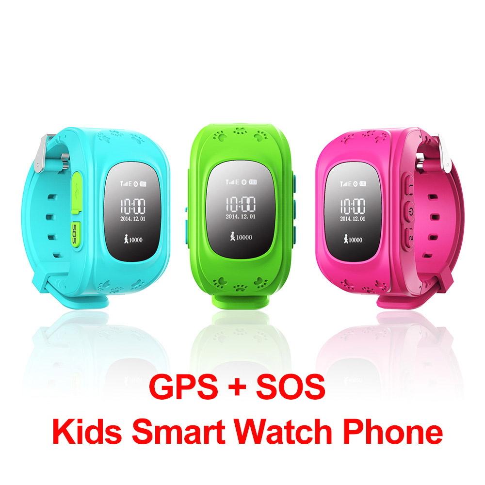 Children GPS Kids Smart Watch GSM GPRS GPS Locator Tracker