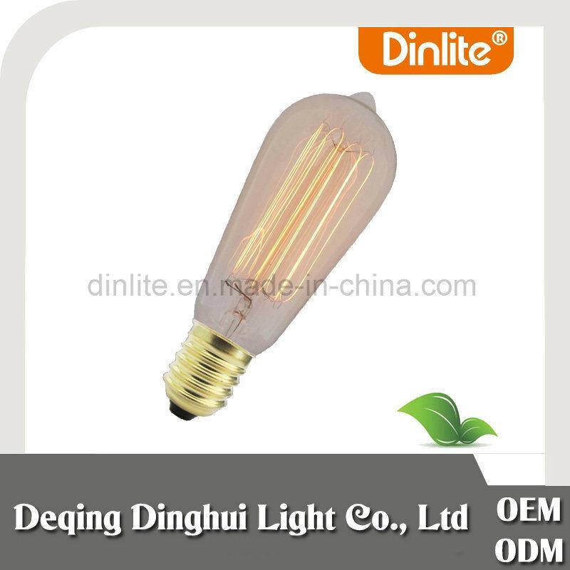 China supplier ST64 retro Edison vintage bulb