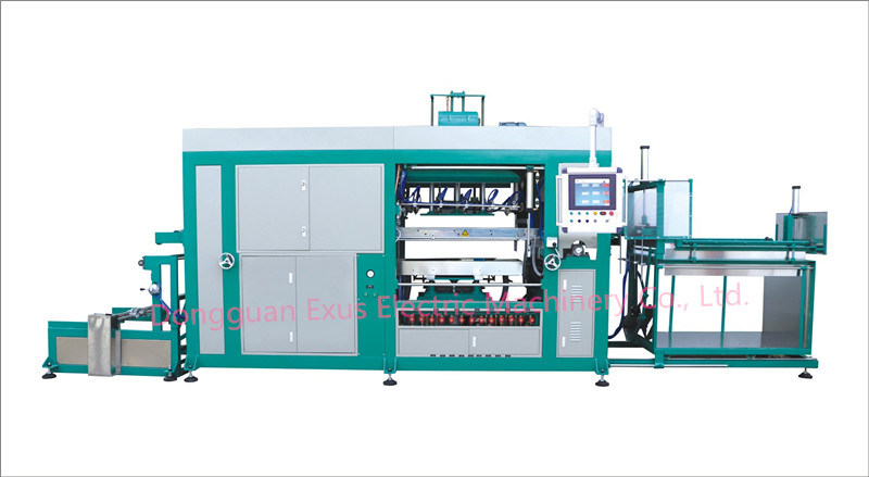 NF1250c Automatic Blister Vacuum Forming Machine, Plastic Container Thermoforming Machine