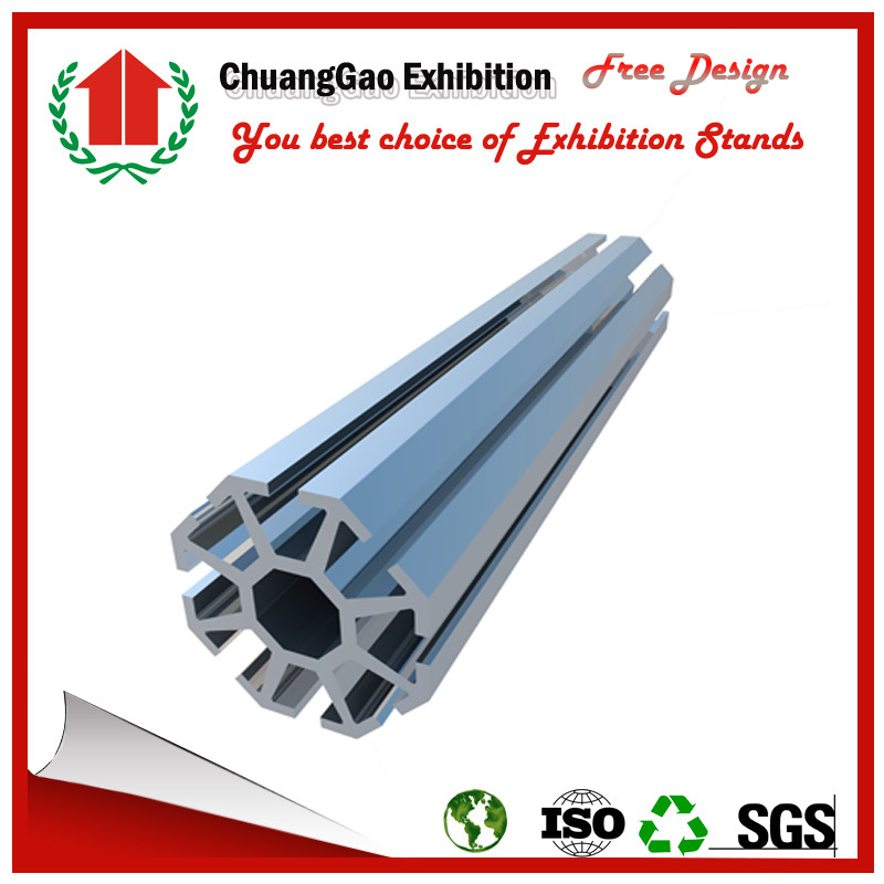 S011 Exhibition Booth Upright Frame Extrusion