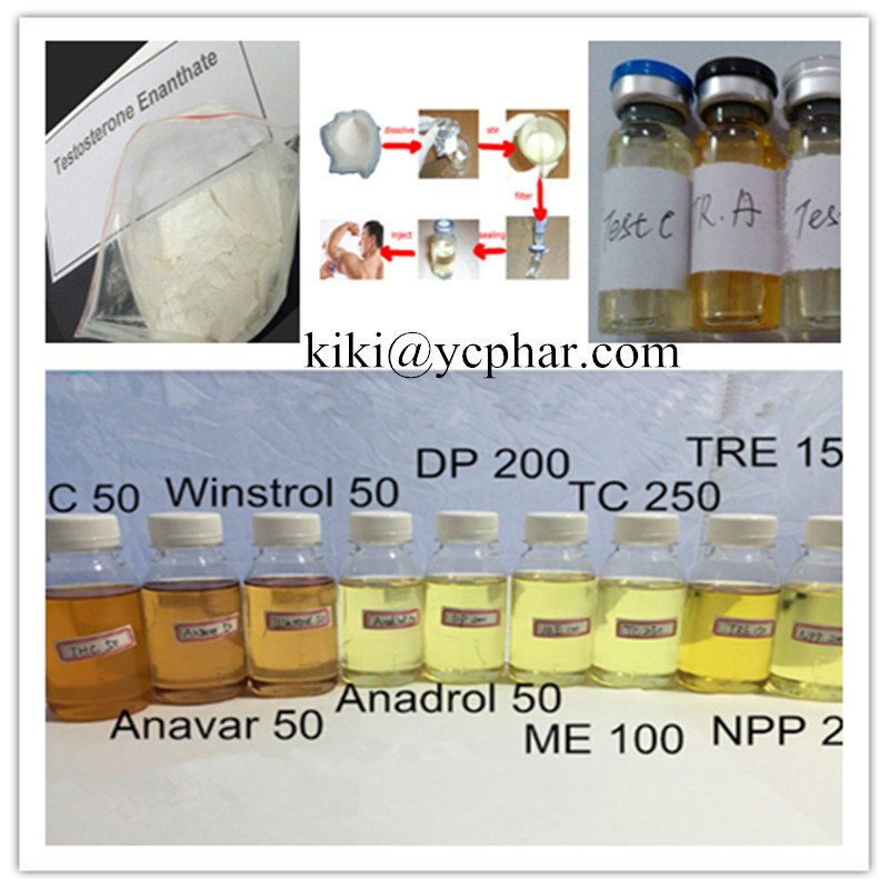 Injectable Anabolic Steroids Liquid Testosterone Cypionate/Test C 250mg/Ml