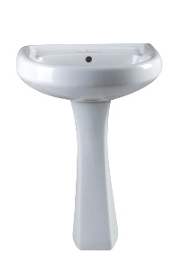 P02 Twyford Sanitary Ware, Basin with Pedestal Hot Sales in Caribbean Market