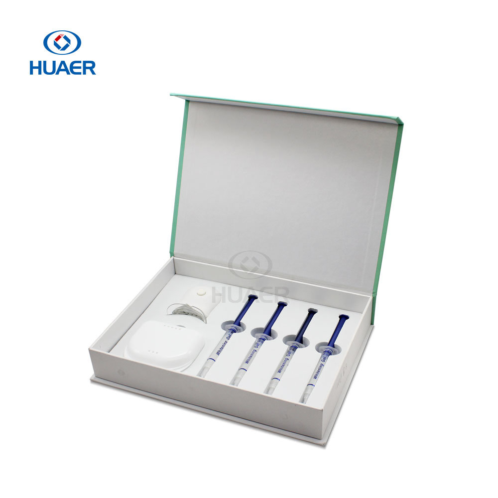 Peroxide Teeth Whitening Home Kit with Beautiful Smile Whitening Light