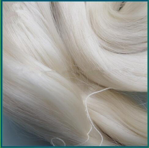 100% Tussah Silk Yarn for Pure China Silk Fabric