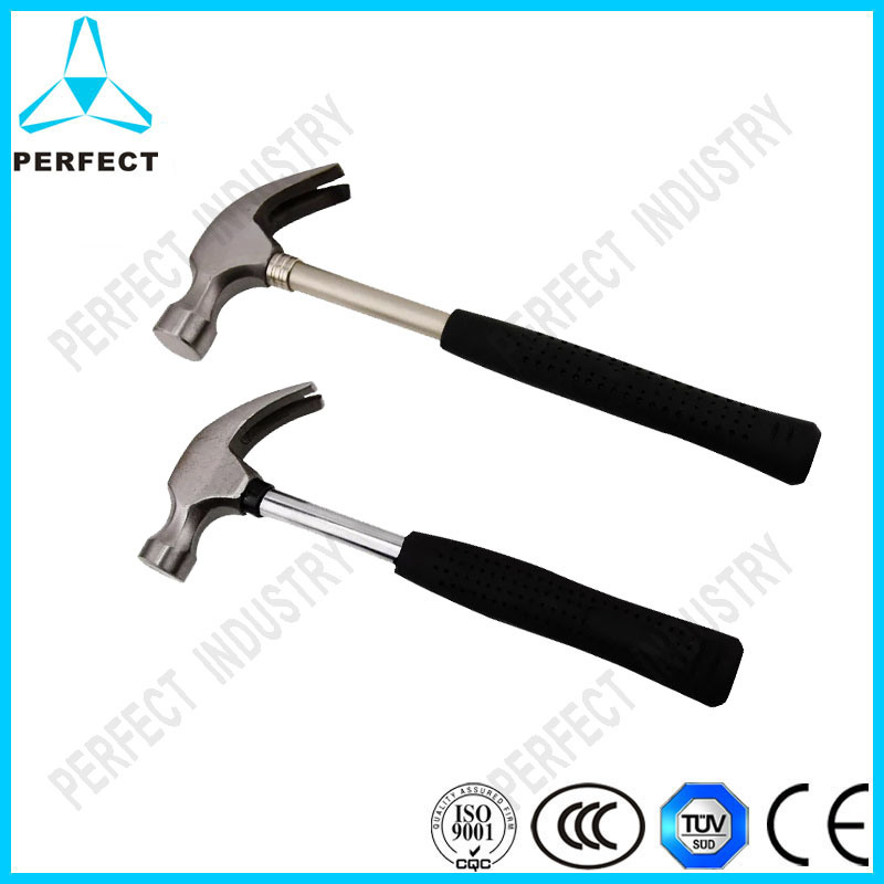 American Type Curved Claw Hammer with Wooden Handle