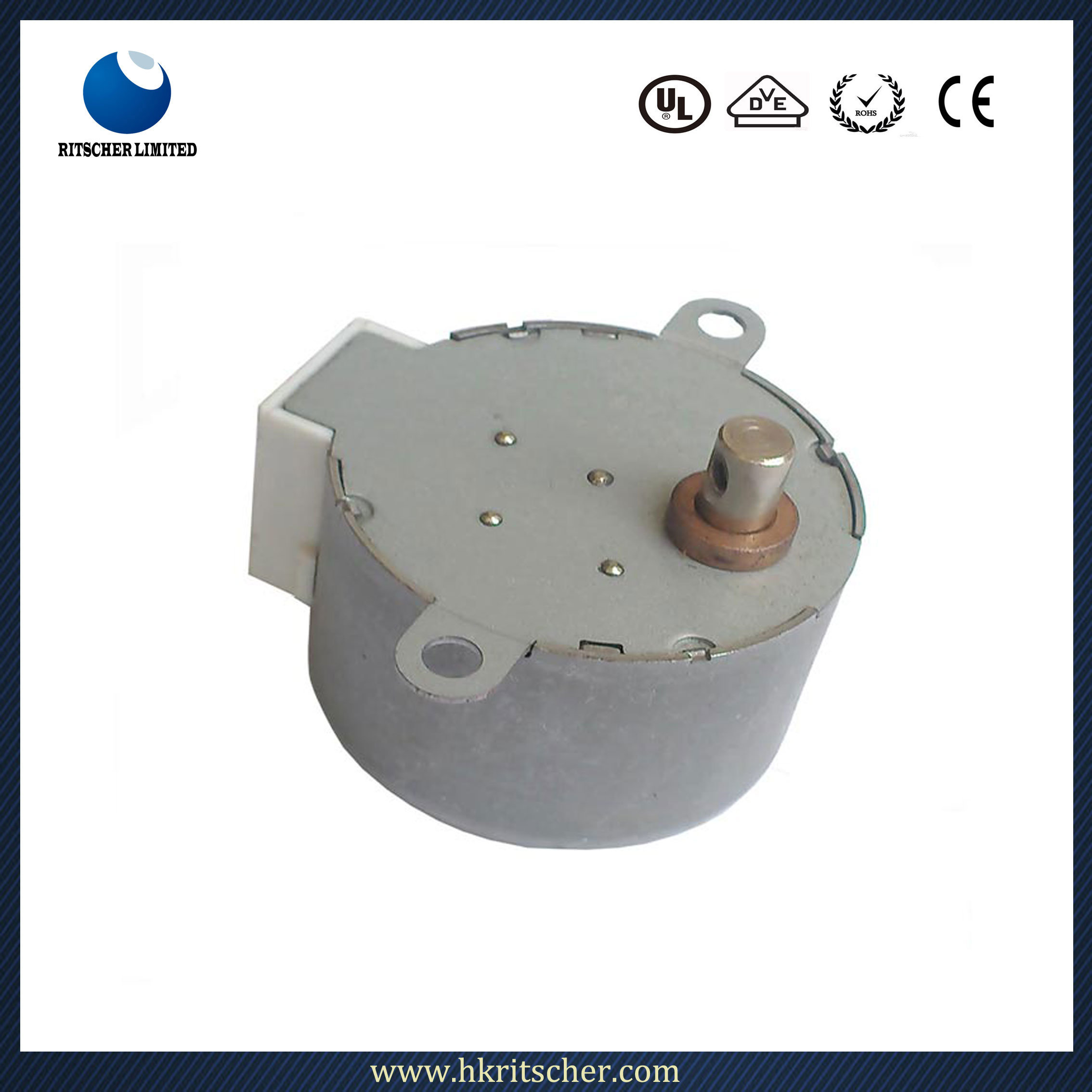 2-6rpm AC Micro Synchronous Gear Motor