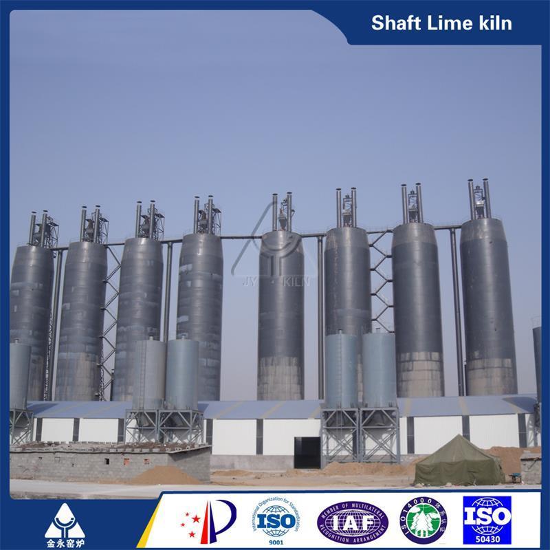 Vertical Lime Kiln Calcining Kiln Plant