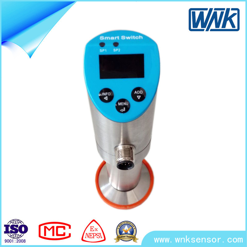 NPN/PNP+0V~5VDC/10VDC+Modbus Industrial High Accuracy Pressure Sensor Transmitter