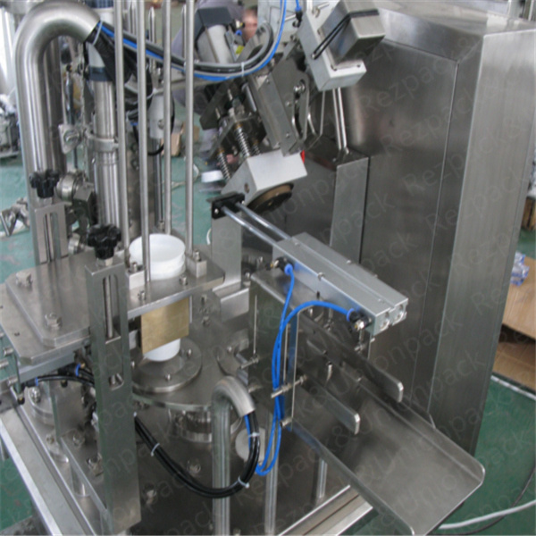 New Design Cup Filling and Sealing Machine for Juice/Jelly/Water (RZ-R)