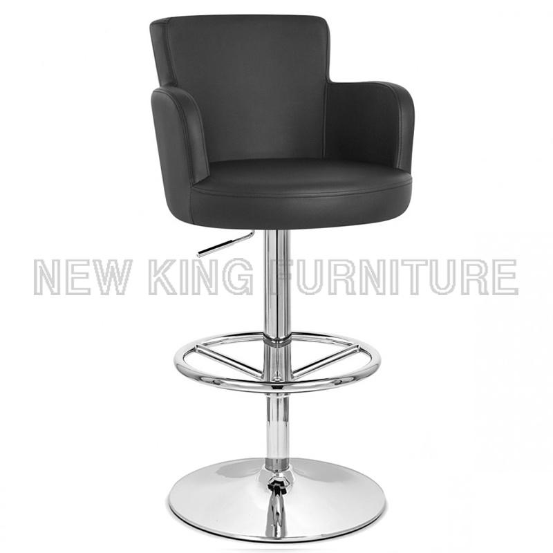 Hot Sale Modern Bar Shop Furniture PU Leather Bar Chair (NK-BC013)