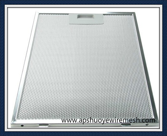 Aluminum/ Stainless Steel Kitchen Exhaust Range Hood Filters