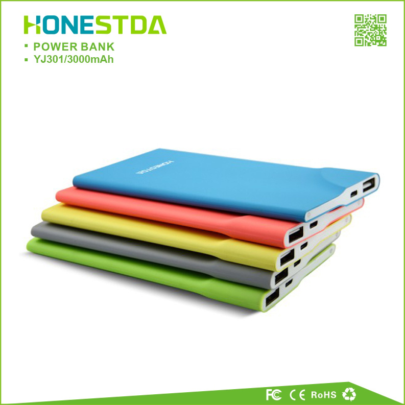 Super Slim Power Bank with CE Certificate for Hot Sale