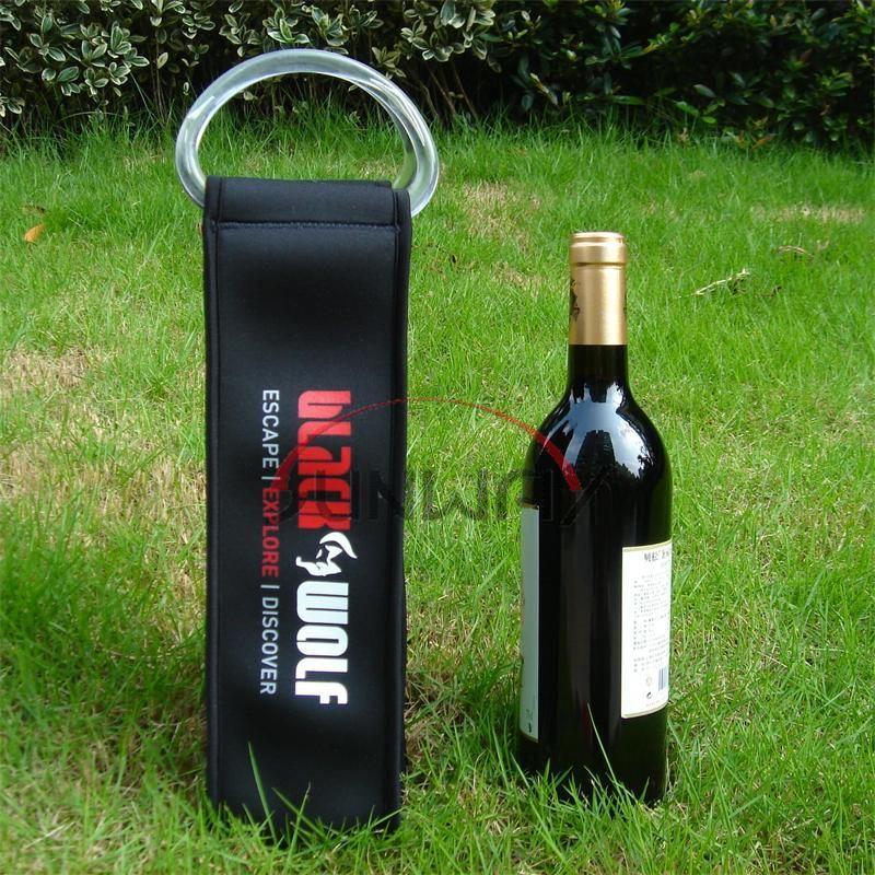 Cooler Bag, Fashionable Custom Neoprene Wine Bottle Holder (BC0031)
