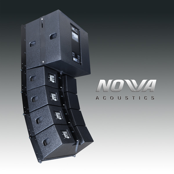 "High Power Compact Double 8"" Professional Line Array (Smart 8)"