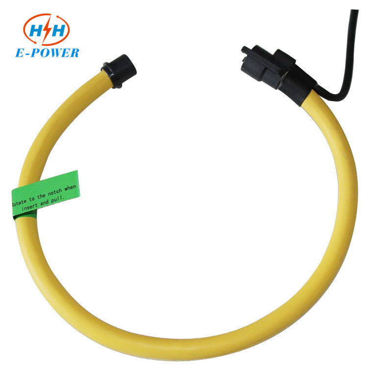 Split Core Flexbile Rogowski Coil Current Sensor with 1000A/100mv