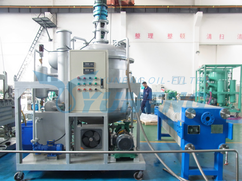 High Efficiency Lubricating Oil Refinery Equipment