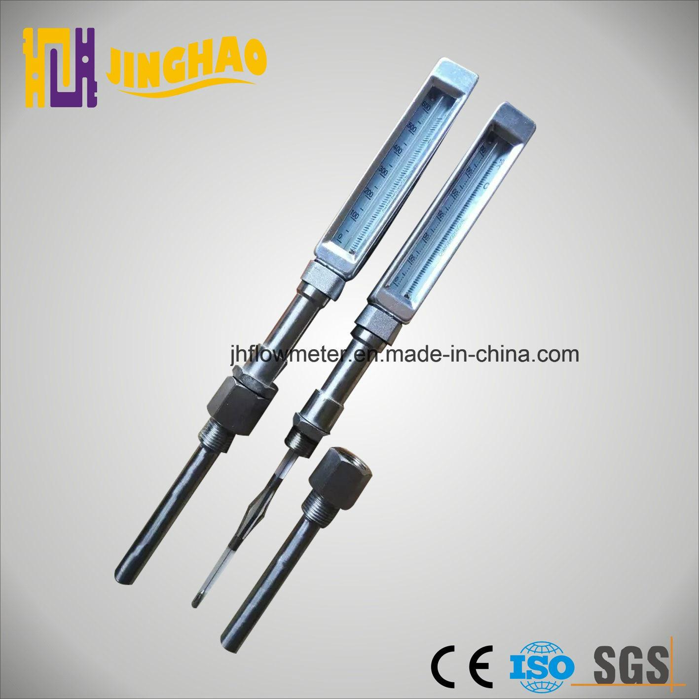 V-Shape Glass Thermometer V-Line Thermometer (JH-TM-V)
