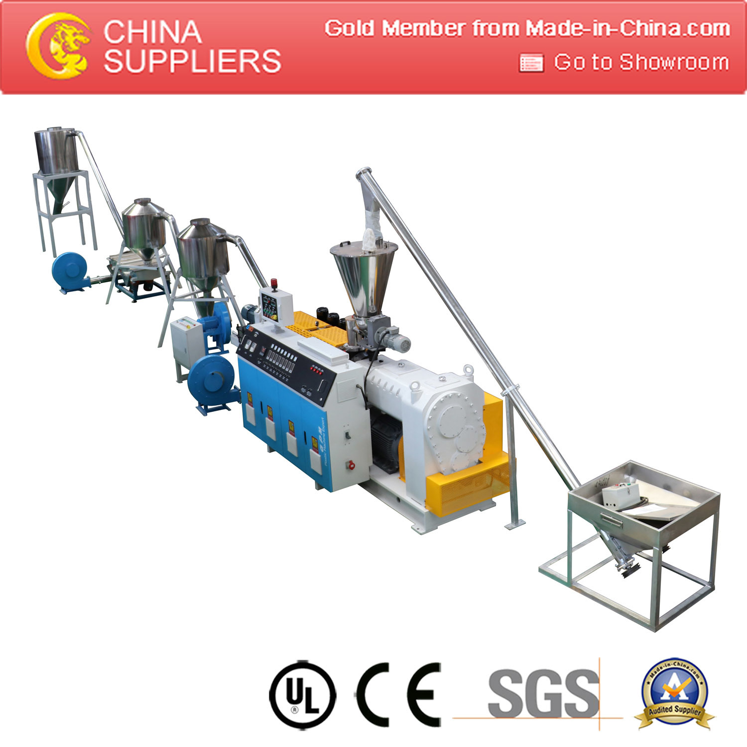 Recycling Machine PVC SPVC Plastic Granulator