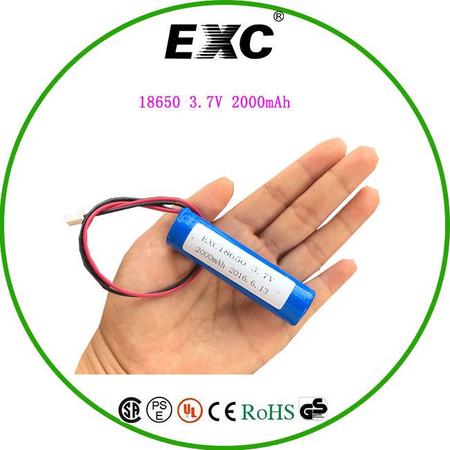 18650 2200mAh 3.7V lithium Battery