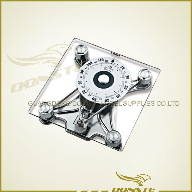 Square Glass Mechanical Scale for Starred Hotel